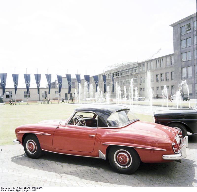 Afrikanische Botschafter in Deutschland, Mercedes 300 SL
