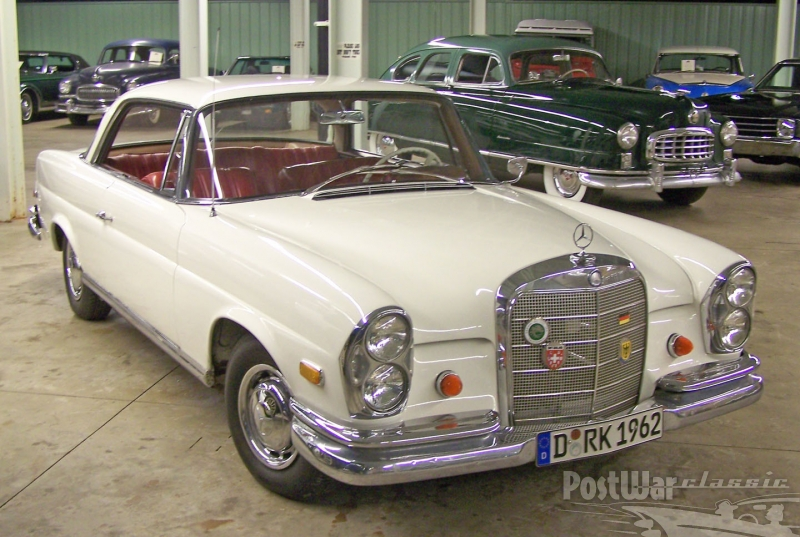 1962 Mercedes-Benz 220SE 2dr hardtop coupe