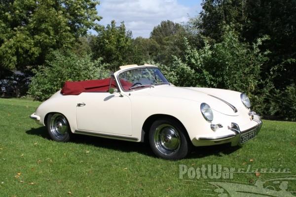 1962 Porsche 356B T5 Cabriolet