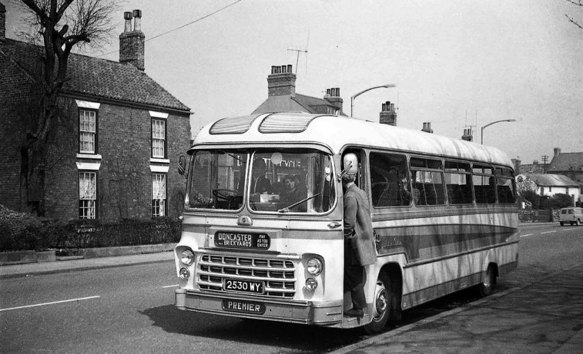 1962 Premier 2530WY Yeates bodied Bedford