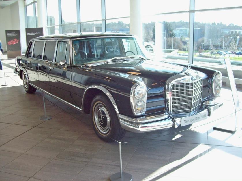 1963-81 Mercedes 600 Pullman Limousine