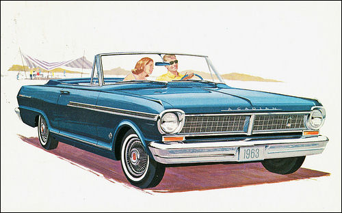 1963 Acadian Beaumont Convertible