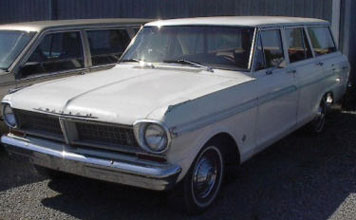 1963 Acadian Station Wagon