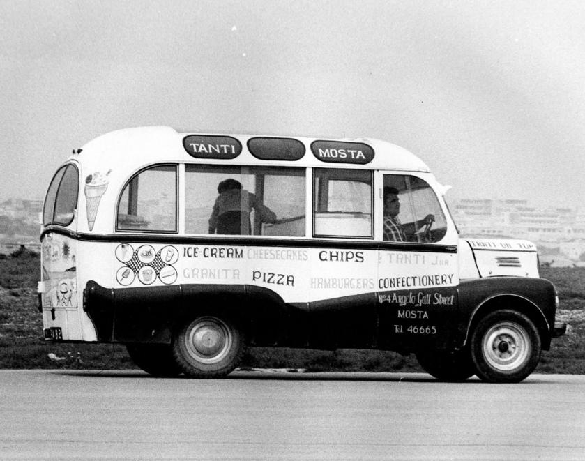 1963 Bedford Ice Cream Van