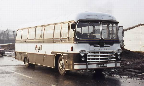 1963 Bedford SB with Yeates Pegasus bodywork 979grm