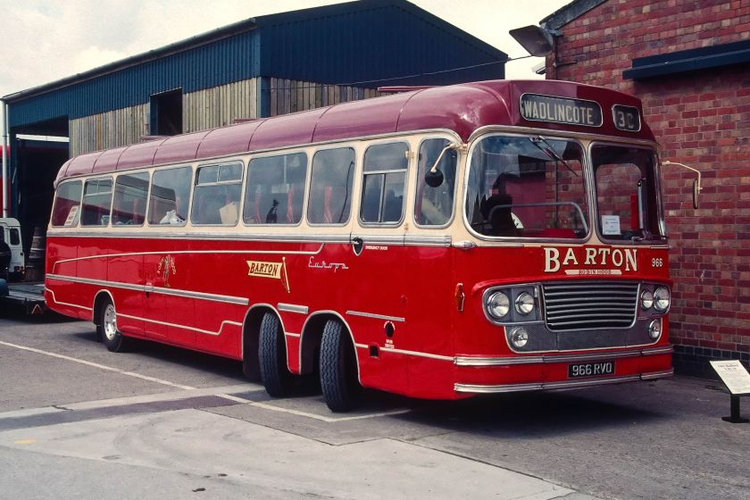 1963 Bedford VAL 14 with Yeates Europa body.