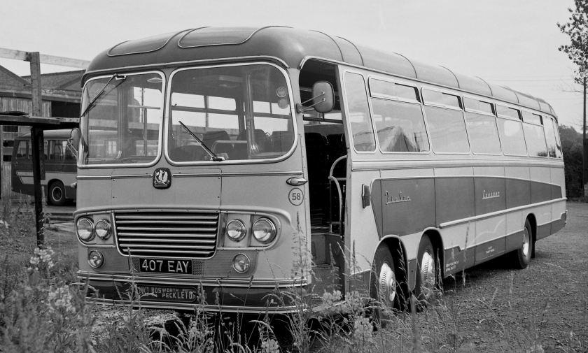 1963 Bedford VAL14 Yeates C51F