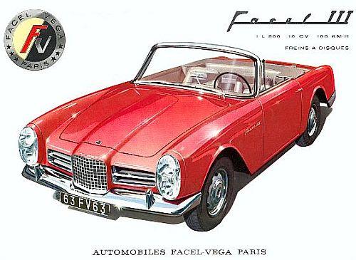 1963 facel vega facel III