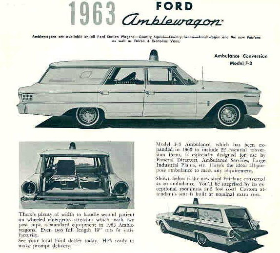 1963 Ford Country Sedan ad