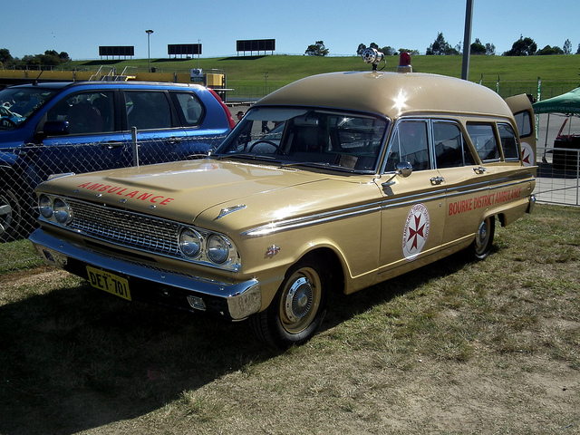 1963 Ford Fairlane 500 ambulance