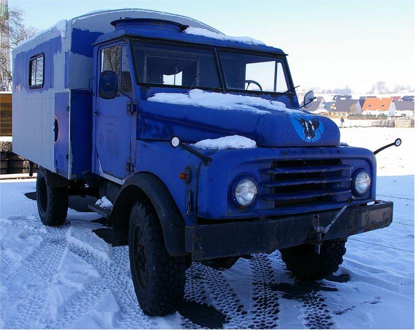 1963 Hanomag-AL 28 mit Kofferaufbau