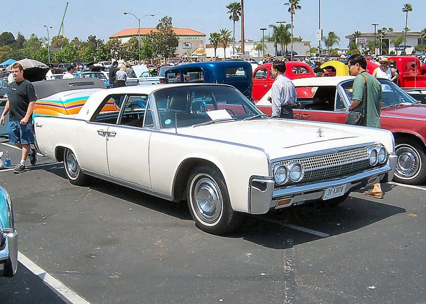 1963 Lincoln Continental white