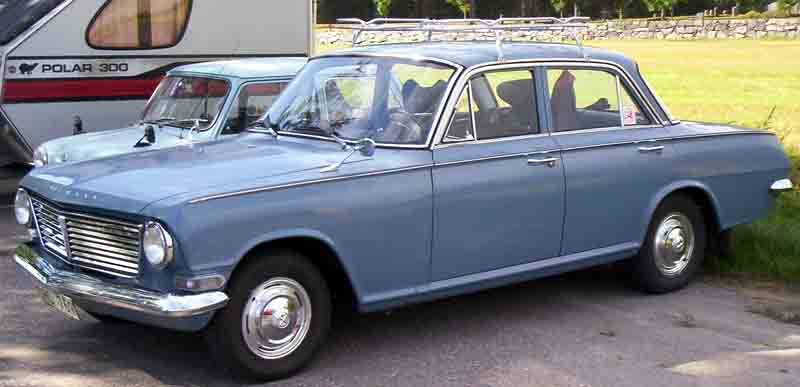 1963 Vauxhall 4-Door Saloon