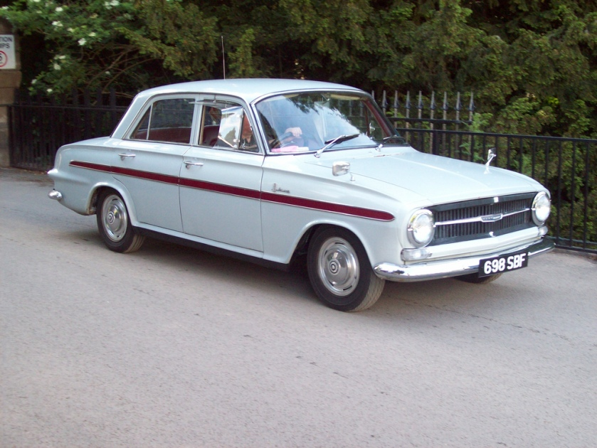 1963 Vauxhall VX 4-90 Engine 1508cc S4 SBF