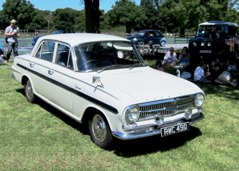 1963 Vauxhall VX490 based on Victor FB 1508cc
