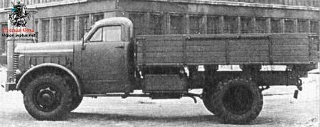 1963 ZIS-253 experimental a