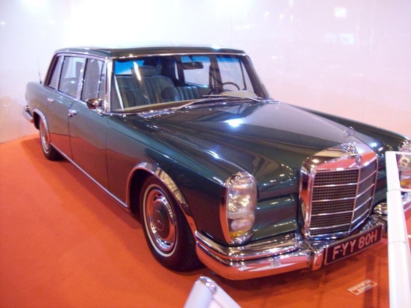 1964-81 Mercedes 600 Engine 6330cc V8