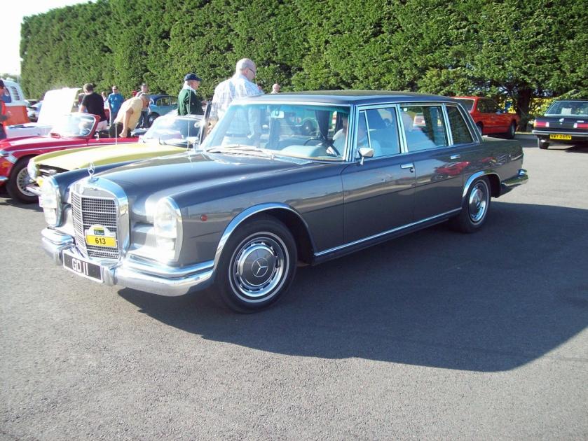 1964-81 Mercedes 600 Engine 6332 cc V8 GD 11