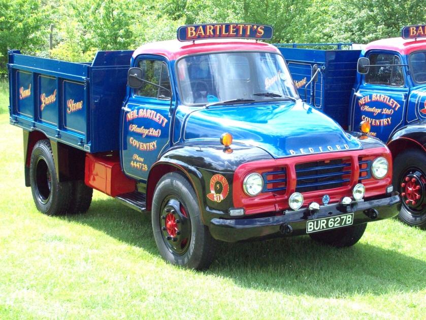 1964 Bedford TJ Tipper Truck Registered BUR 627 B