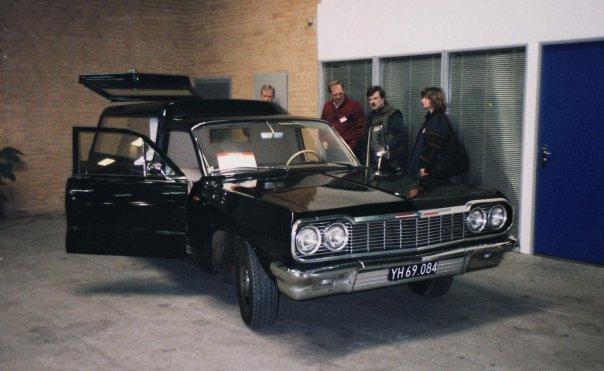1964 chevrolet biscayne hearse