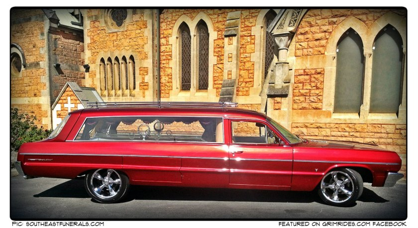 1964 Chevrolet Hearse as an unique burial transportation option