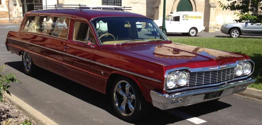 1964 Chevrolet muscle hearse