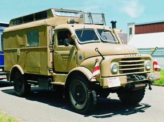 1964 Hanomag AL28А, 4x4