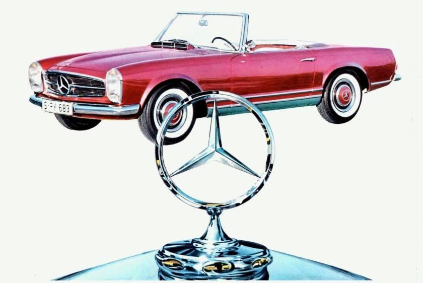 1964 Mercedes 230SL ...