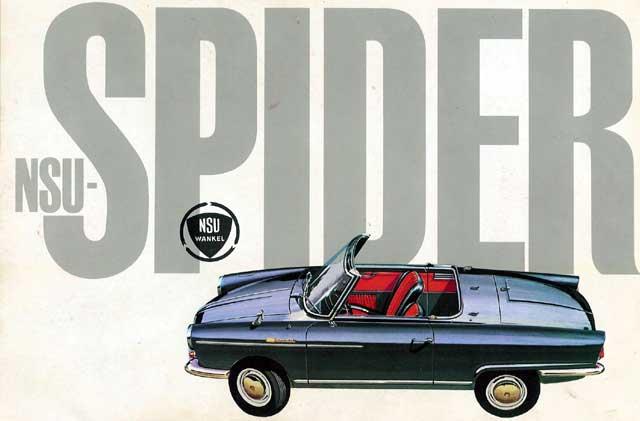 1964 NSU-wankel-Spider