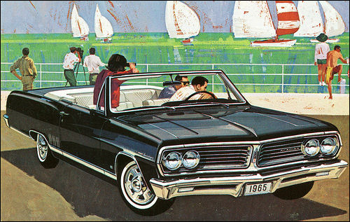 1965 Acadian Beaumont Convertible