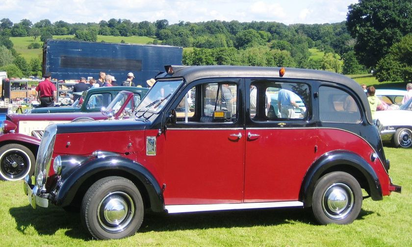 1965 Beardmore 'London' Taxi