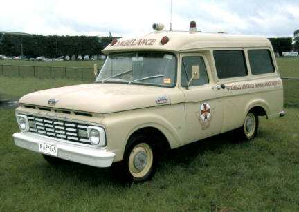 1965 Ford F 1965 Victoria Emergency