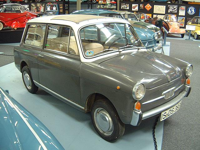 1965 NSU-FIAT Autobianchi Panorama type D voorzijde