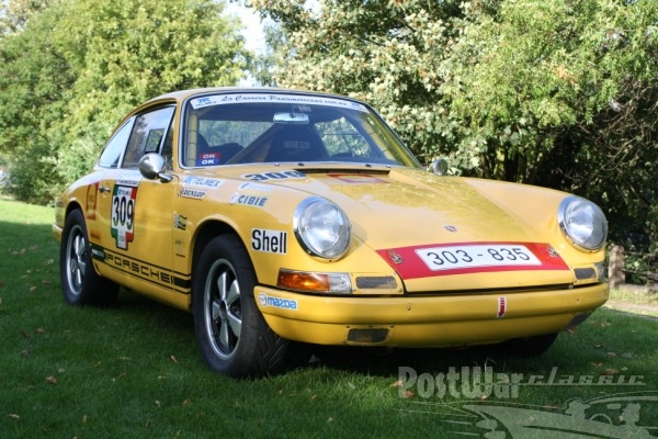 1965 Porsche 911 SWB Rally Car Coupe
