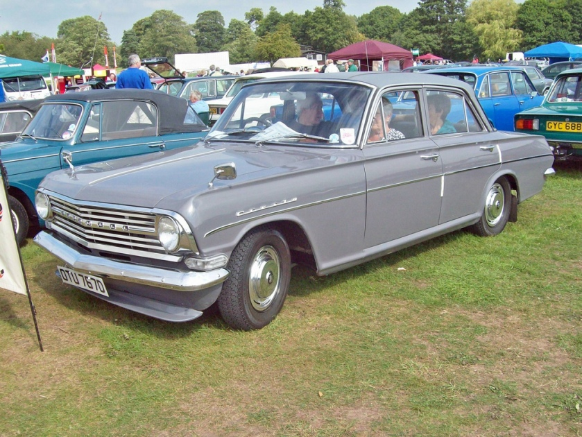 1965 Vauxhall Cresta PB Engine 3294cc S6