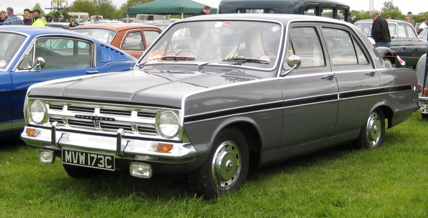 1965 Vauxhall_Victor_101_1965_Battlesbridge