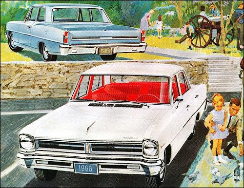 1966 Acadian Invader Sedans