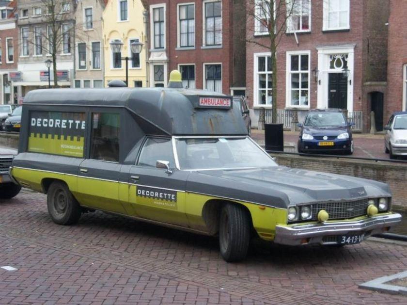 1966 Ambulance Chevrolet omgebouwd NL