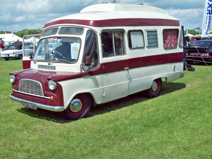 1966 Bedford CA Dormobile Debutante Engine 1594cc Perkins Diesel Registration Number HUH 987 D