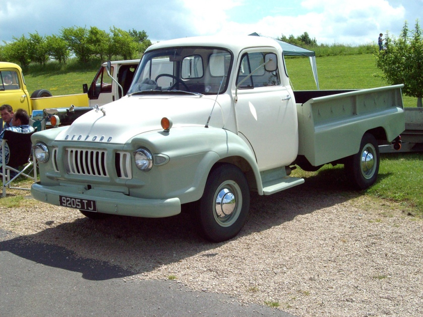 1966 Bedford JI Pick-Up Engine 3519cc Registered 9205 TJ