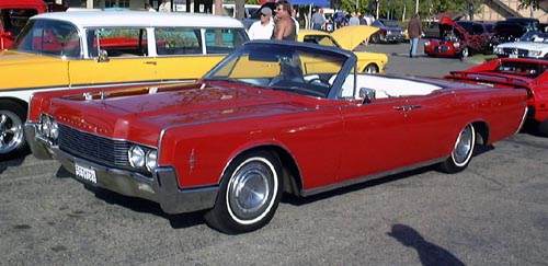 1966 Lincoln Continental four-door convertible