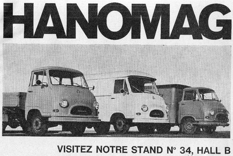 1966 Real size Hanomag Kurier