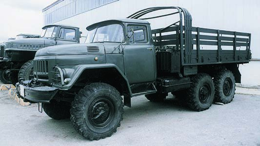 1966 ZIL-131, 6x6