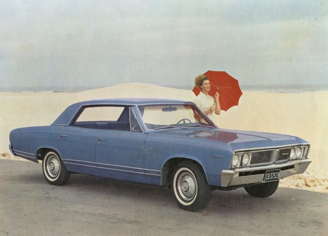 1967 Acadian Beaumont ad