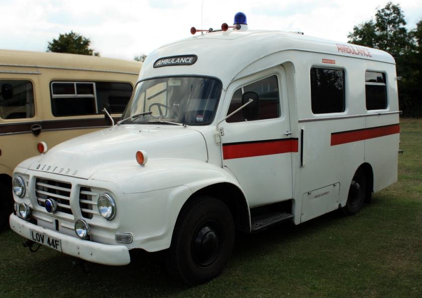 1967 Bedford J1 Ambulance LOV44F