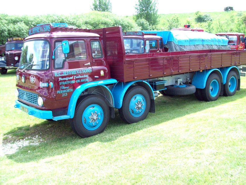 1967 Bedford TK 8 wheel Rigid Engine 3800 cc Diesel Registered KNL 659 E