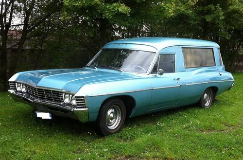 1967 CHEVROLET BEL AIR, ESTATE WAGON, HEARSE