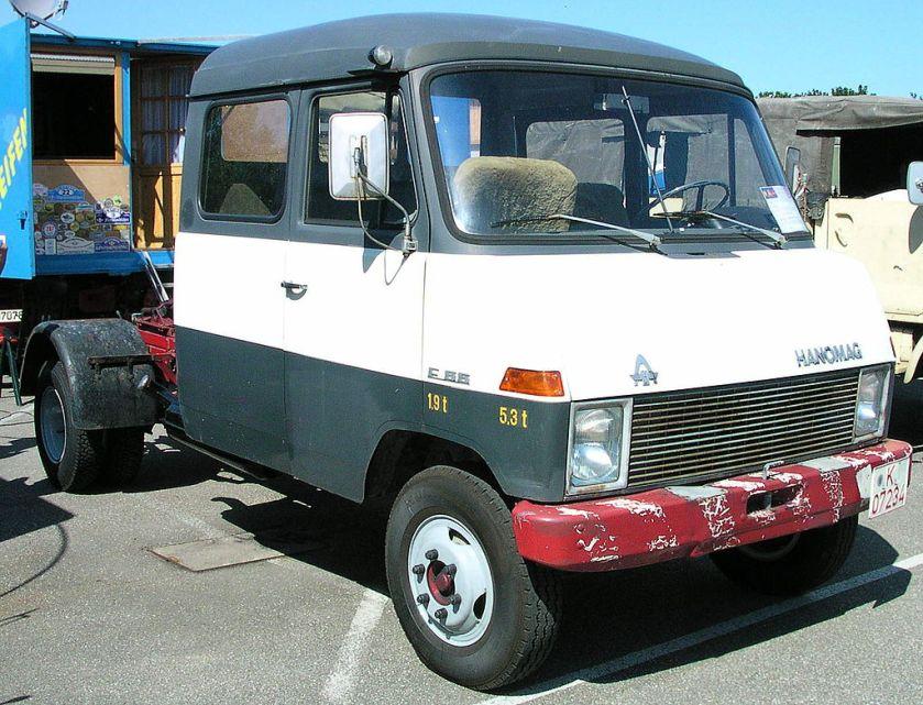 1967 Hanomag F55 Doppelkabine