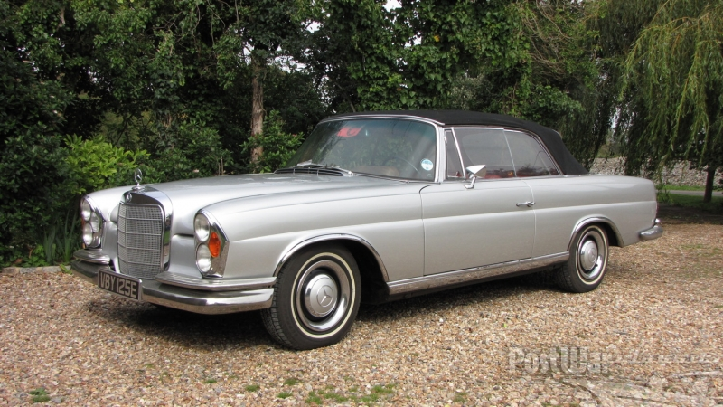 1967 Mercedes-Benz 250SE CONVERTIBLE