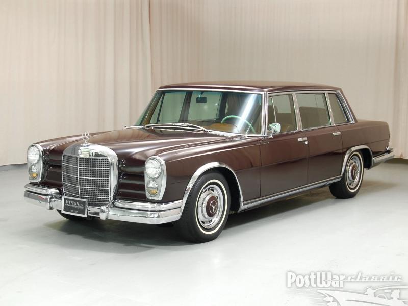 1967 Mercedes-Benz 600 sedan